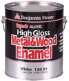 Photo for BENJAMIN MOORE Impervo High Gloss Metal & Wood Enamel 133