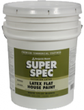 Photo for BENJAMIN MOORE Super Spec Flat Latex House Paint 171