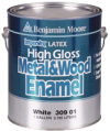 Photo for BENJAMIN MOORE Impervex High Gloss Metal & Wood Enamel 309