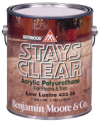 Photo for BENJAMIN MOORE Benwood Stays Clear Acrylic Polyurethane Low Lustre 423