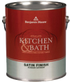 Photo for BENJAMIN MOORE Kitchen & Bath 100% Acrylic Latex Satin Finish N322