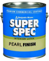 Photo for BENJAMIN MOORE Super Spec Latex Pearl Finish 277