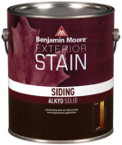 Photo for BENJAMIN MOORE Alkyd Solid Siding Stain C080