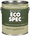 Photo for BENJAMIN MOORE Eco Spec WB Eggshell Finish 374