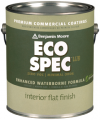 Photo for BENJAMIN MOORE Eco Spec WB Flat Finish 373
