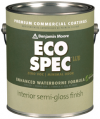 Photo for BENJAMIN MOORE Eco Spec WB Semi Gloss 376