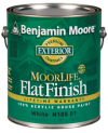 Photo for BENJAMIN MOORE Moorlife 100% Acrylic Flat Latex House Paint N105