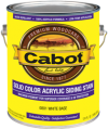 Photo for CABOT Solid Color Acrylic Siding Stain 800