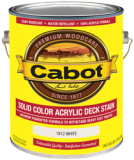 Photo for CABOT Solid 100% Acrylic Decking Stain 1800