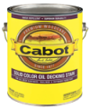 Photo for CABOT Solid Color Decking Stain 1600
