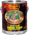Photo for GRAHAM Lumberjacket Solid Color Siding Stain 962