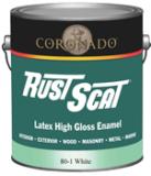 coronado rust scat latex high gloss enamel 80 interior exterior wood. Black Bedroom Furniture Sets. Home Design Ideas