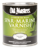 Photo for OLD MASTERS Spar Marine Varnish Semi Gloss