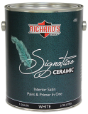 Photo for RICHARD'S PAINT #440 Series, Signature Series PLUS Ceramic Paint & Primer In One - Satin