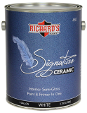 Photo for RICHARD'S PAINT #450 Series, Signature Series PLUS Ceramic Paint & Primer In One - Semi-Gloss