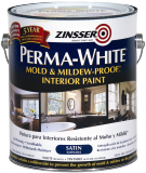 Photo for ZINSSER Perma White Satin Mold & Mildew-Proof Interior Paint