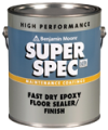 Photo for BENJAMIN MOORE Super Spec HP Fast Dry Epoxy Floor Sealer/Finish P41