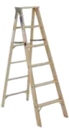 Photo for MICHIGAN LADDER 6' Wood Ladder