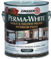Photo for ZINSSER Perma White Eggshell Mold & Mildew-Proof Interior Paint